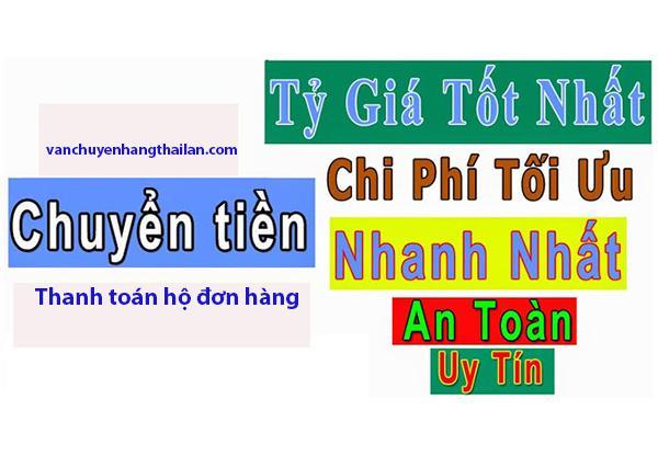 Chuyển tiền sang Thái