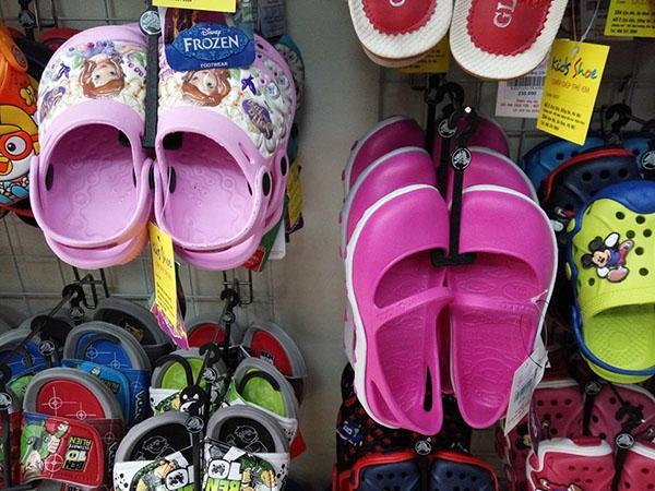 Dép trẻ em Thái Lan giá gốc