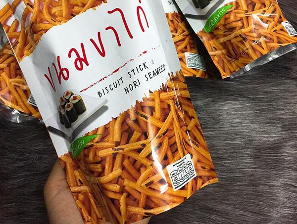 Bánh que Thái Lan