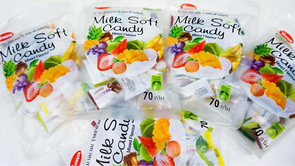 Nguồn hàng kẹo dẻo Thái Lan