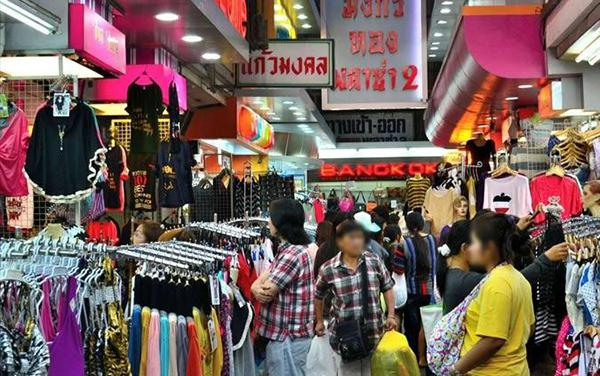 Hàng hóa ở Thái Lan