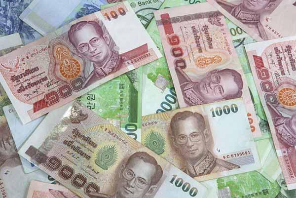 Cách đổi tiền Thái